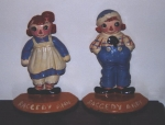 Click to view Raggedy Ann & Andy Bookends photos