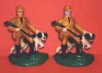 Click to view Hunter with Setter Hubley Bookends photos