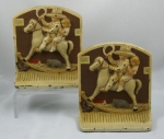 Click to view Children on Rocking Horse Bookends photos