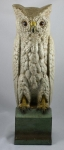Click to view Snowy Owl on Pedestal B&H Door Stop photos
