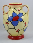 Click to view Czech Pottery Vase photos