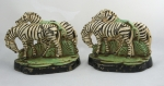 Click to view Zebra Hubley Bookends photos