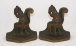 Click to view Squirrel w/ Nut B&H Book Ends photos
