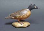 Click to view Frank Finney Carving Blue Wing Teal photos